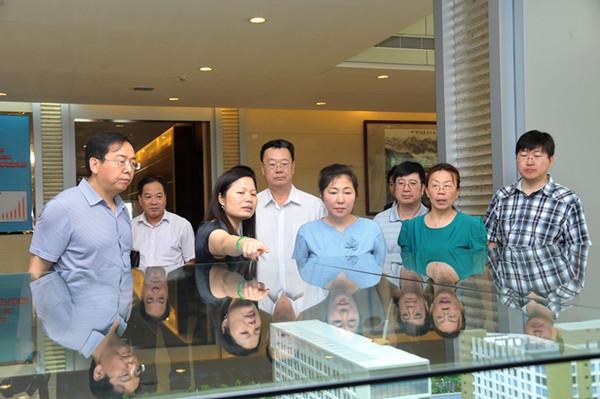 内蒙古自治区卫生系统考察团到康美药业参观