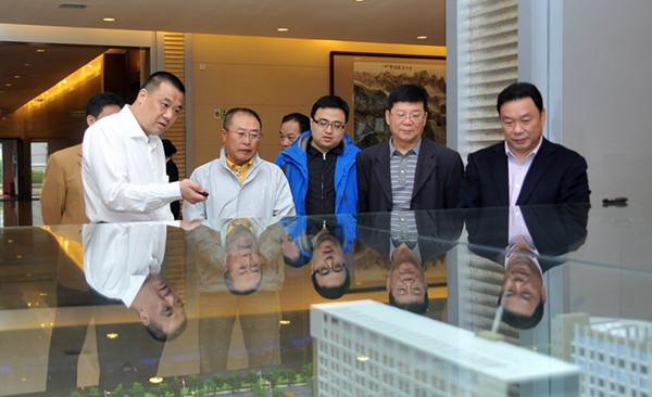 十二届全国政协常委、原黑龙江省省长张左己考察康美药业