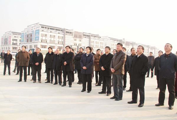 安徽省委副书记、省长李斌考察康美(亳州)华佗国际中药城