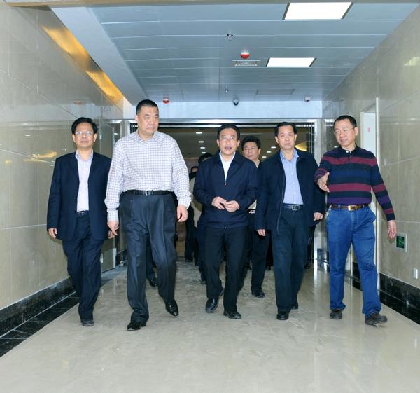 揭阳市副市长曾瑞如到康美医院调研