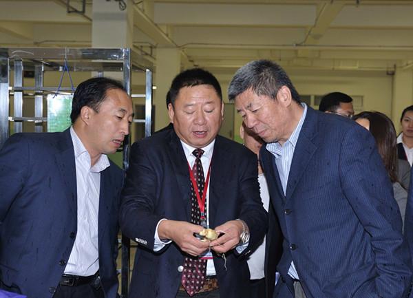 国家中医药管理局副局长李大宁调研康美新开河