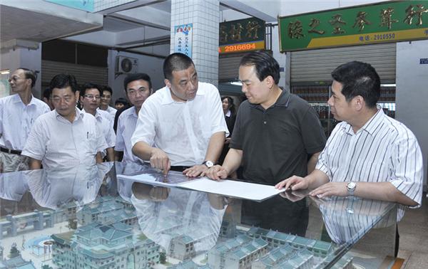 揭阳市委副书记、市长陈东调研康美药业发展模式