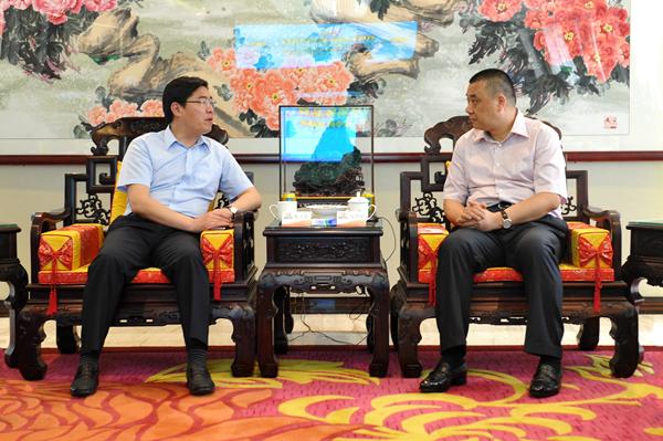 """连云港开发区与康美药业将共同打造""""中国健康港"""""""