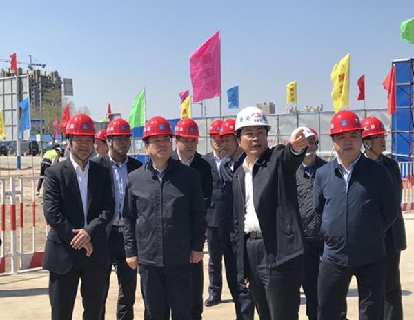 吉林省委常委、组织部部长王凯考察康美梅河口大健康项目