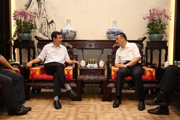 广东省地税局局长吴紫骊寄语康美药业20年:要做中国的康美 更要做世界的康美