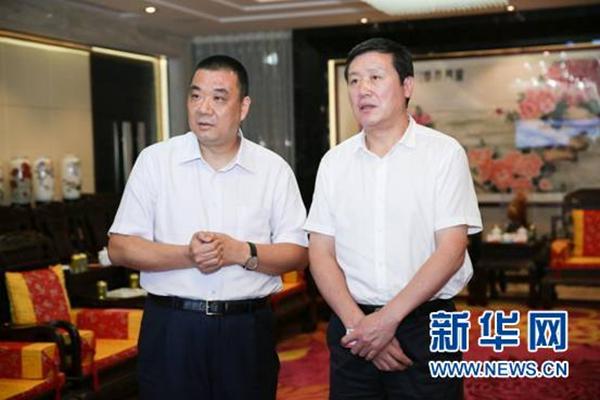 昆明市长王喜良到康美药业推进战略合作项目