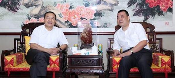 云南省副省长张祖林率队考察康美药业