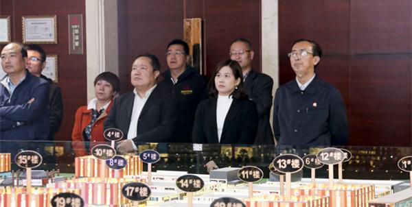 青海省西宁市副市长杨晓民率队考察西宁(康美)国际中药城