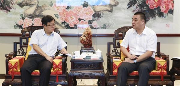 丽江市委副书记刘佳晨到康美药业推进战略合作项目
