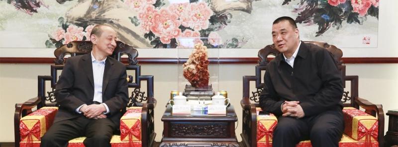 徽商银行董事长李宏鸣到访康美药业