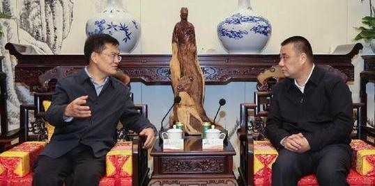 中国银监会广东监管局副局长张坚红调研康美药业