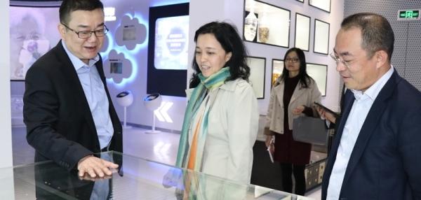 广东省旅游局局长曾颖如调研康美药业