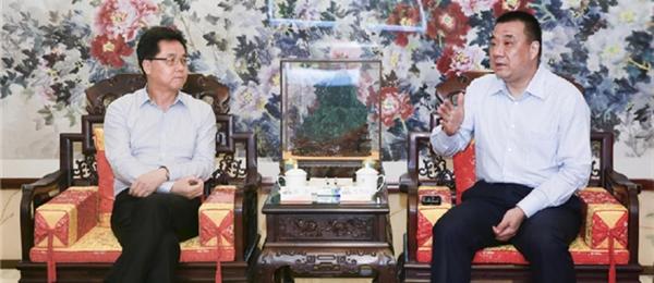 甘肃定西市长戴超到访康美药业推进合作项目