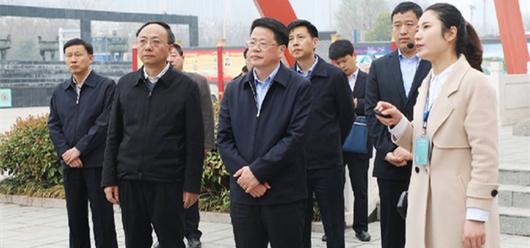 安徽省副省长杨光荣调研亳州中医药健康旅游发展