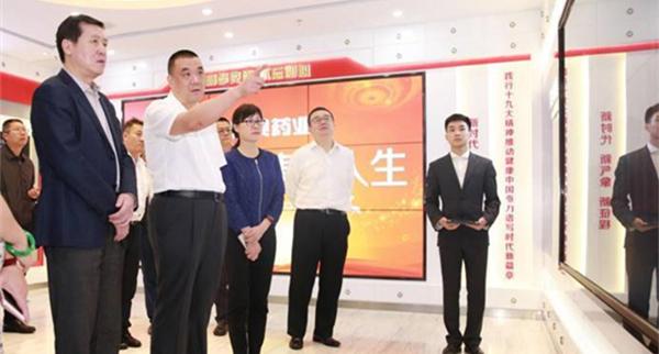 昆明市长王喜良到访康美药业快速推进战略合作