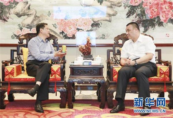 甘肃陇南市长崔景瑜率队到访康美药业