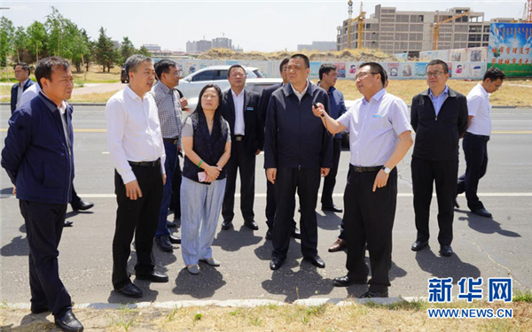 康美药业董事长马兴田赴内蒙古通辽市推进大健康产业合作项目落地