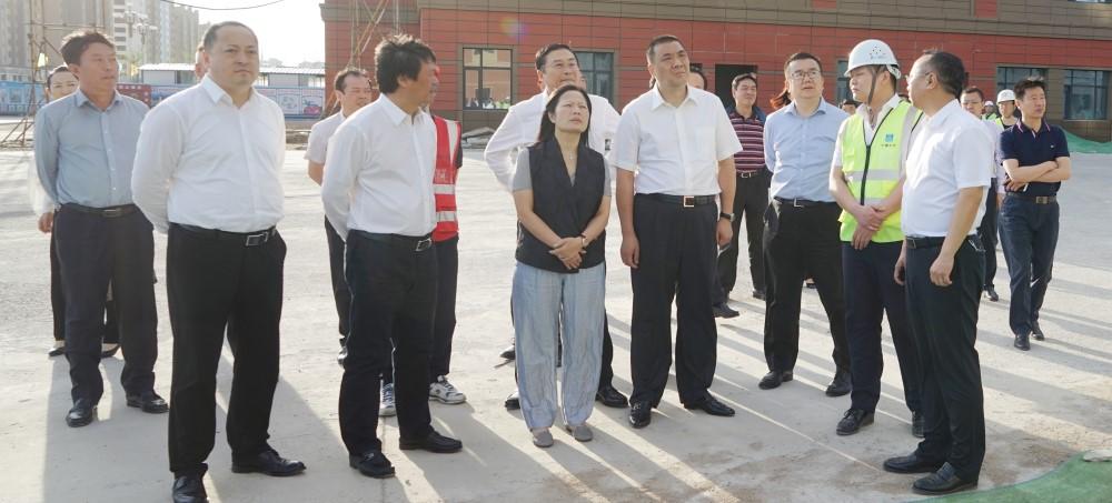 康美药业董事长马兴田带队考察康美梅河口大健康产业项目