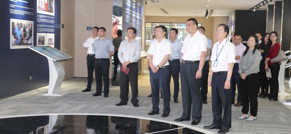 康美药业董事长马兴田赴珠海横琴推进大健康产业项目合作