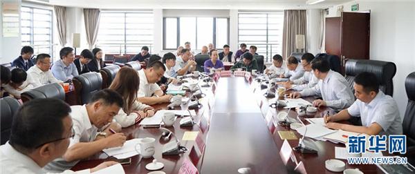 昆明市长王喜良会见康美集团董事长马兴田 推进康美昆明健康城建设
