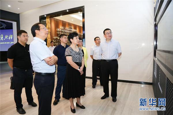 广州中医药大学党委书记张建华到访康美药业