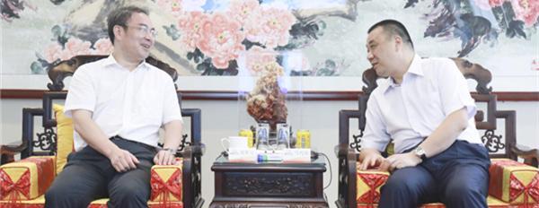 张家界市长刘革安到访康美药业