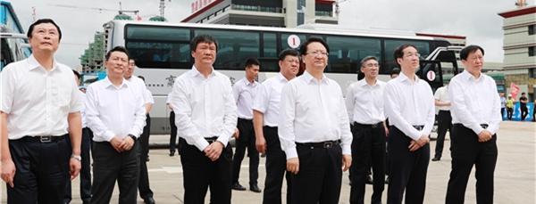 吉林省长景俊海率团考察县域经济  康美梅河口医疗健康中心再获肯定