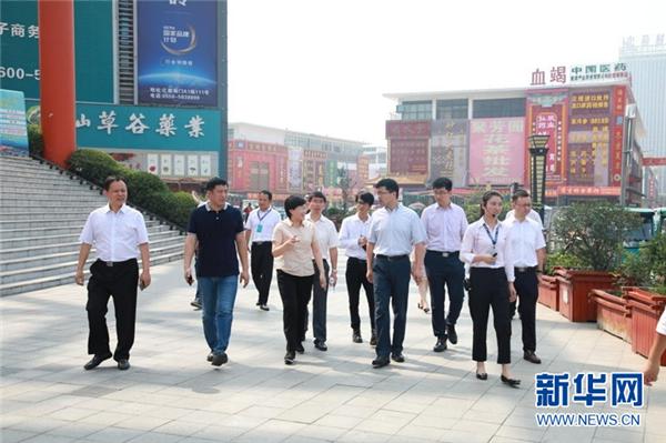 清华大学党委副书记过勇到访康美(亳州)中药城