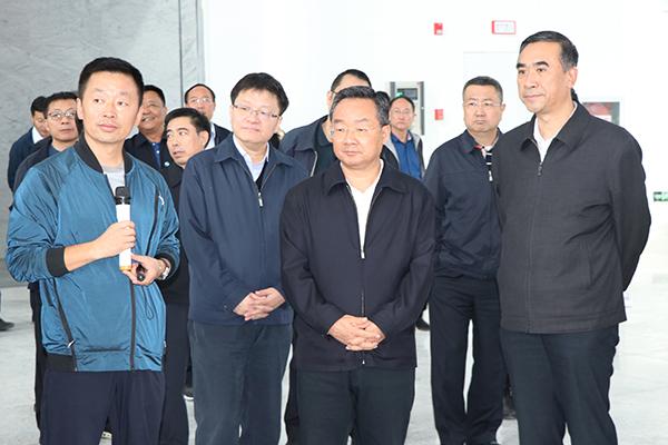 甘肃省长唐仁健调研中国·甘肃中医药博览园建设