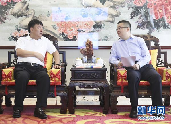 黑龙江省双鸭山市委常委、副市长辛敏超到访康美药业