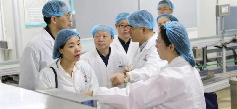 江西省卫健委调研组考察康美药业