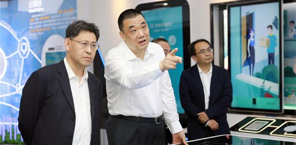 揭阳市长叶牛平率队赴深圳考察康美药业