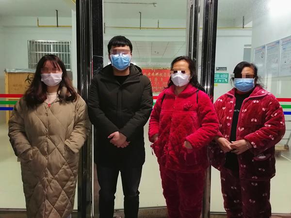 振奋人心!康美通城人民医院今天新增出院6人,累计20人!