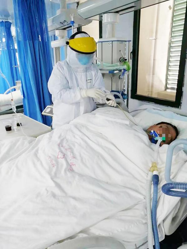 又抢回一条生命!康美通城人民医院对一例新冠肺炎危重症患者行气管切开后病情好转