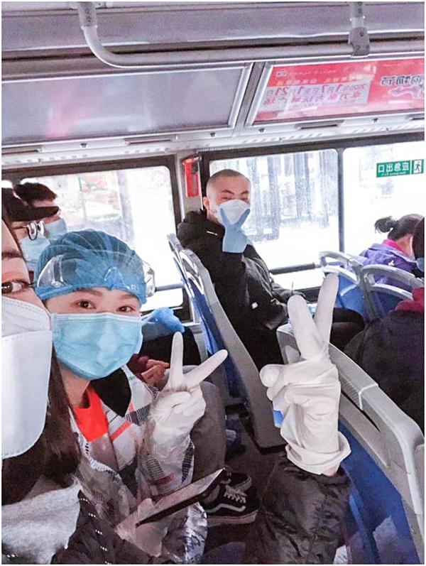 康美开原市中心医院90后逆行者在雷神山的战疫日记