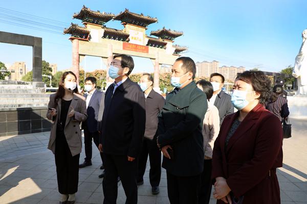 文化和旅游部副部长张旭考察康美(亳州)中药城