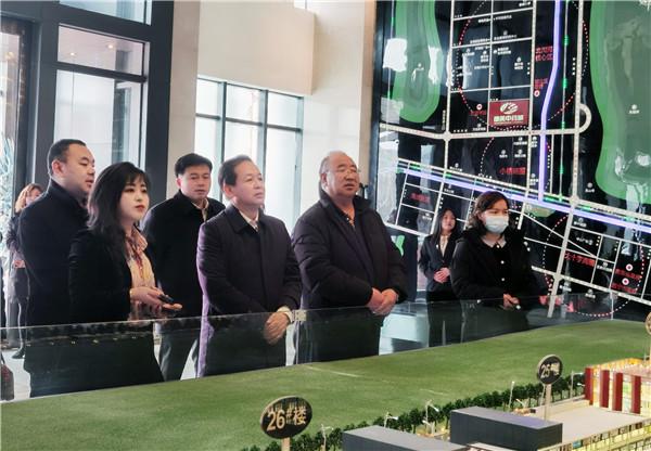 青海省文化和旅游厅副厅长才让太调研西宁康美城