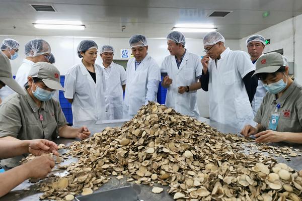 康美药业总经理刘国伟深入视察企业生产安全工作