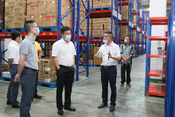 康美药业总经理刘国伟在广东深入视察企业生产安全工作