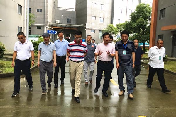 康美药业总经理刘国伟带队赴上海调研安全生产工作